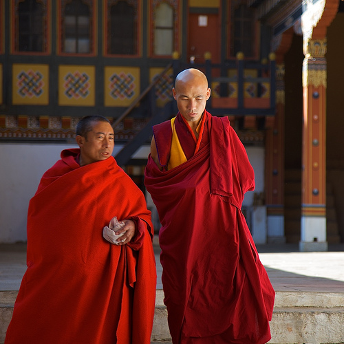 世界の仏教僧侶